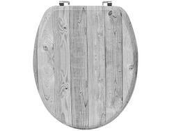 Сиденье для унитаза Tendence Grey Wood, MDF
