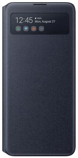 купить Чехол для смартфона Samsung EF-EN770 S View Wallet Cover Black в Кишинёве