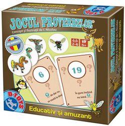 Настольная игра Jocul proverbelor, код 41168