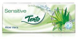 Șervețele de buzunar TENTO 3 str. Aloe Vera/Eucaliptus/Pandy