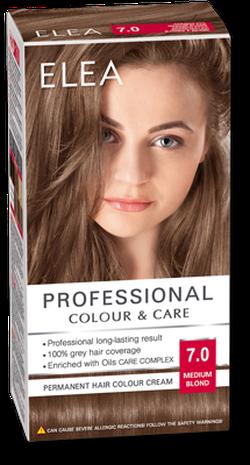 Краска для волос,SOLVEX Elea, 138 мл., 7.0 - Русый