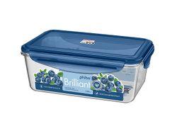 Контейнер герметичный Phibo Brilliant 1.35l, 22.5X13.5X8cm,