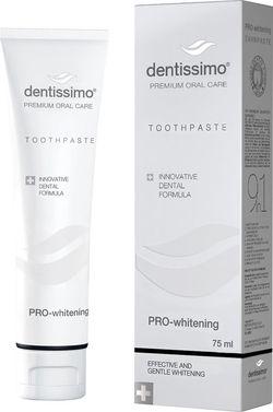 cumpără Accesoriu perie de dinți Dentissimo Pro-Whitening, 75ml pasta de dinti în Chișinău