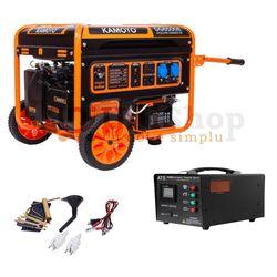 Generator pe benzina cu pornire automată ATS Kamoto GG6500E