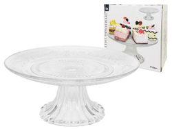 Подставка для торта стеклянная D20cm, H10cm