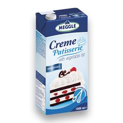 MEGGLE™ CREME PATISERIE 1 litr FARA ZAHAR Tetra Pack