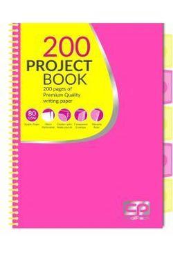 Блокнот с перегородками CoolPack желтый и розовый A4