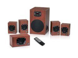 купить Колонки мультимедийные для ПК Genius SW-HF5.1 4600, Wood в Кишинёве