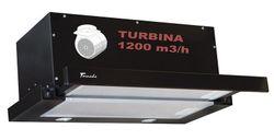 cumpără Hotă încorporabilă Tornado Storm 1200 (60) LED BL în Chișinău