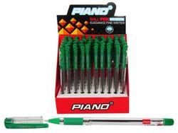 Ручка гелевая PT-111 soft ink 0.7mm, зеленая