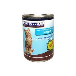Nutritcat рыба 415 gr