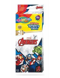 ТЕМПЕРАТУРНЫЕ КРАСКИ 12 цветов COLORINO Disney Avengers