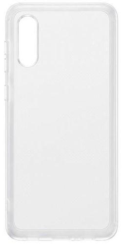 cumpără Husă pentru smartphone Samsung EF-QA022 Soft Clear Cover Transparent în Chișinău