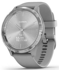 купить Фитнес-трекер Garmin vivomove 3, S/E EU, Silver, Powder Gray, Silicone в Кишинёве