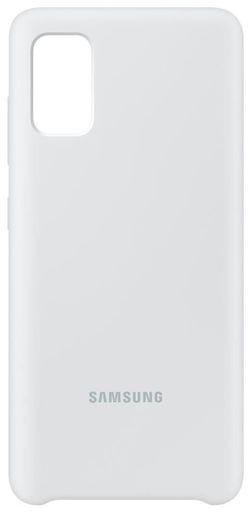 cumpără Husă telefon Samsung EF-PA415 Silicone Cover White în Chișinău