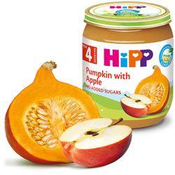 Piure de dovleac cu mere Hipp (4+ luni), 125g