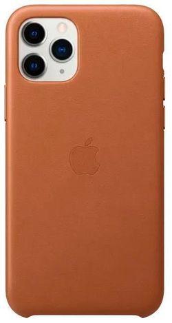 cumpără Husă pentru smartphone Apple iPhone 11 Pro Leather Case Saddle Brown (MWYD2) în Chișinău
