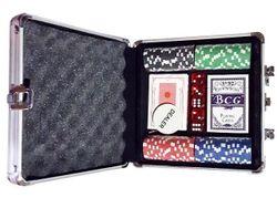 Игра покер в чемодане 100ед 21X20X6cm