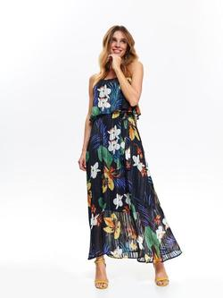 Платье TOP SECRET Темно синий с принтом ssu2865