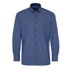 Рубашка ETERNA Синий в клетку