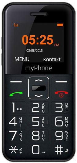 купить Телефон мобильный myPhone Halo Easy, Black в Кишинёве