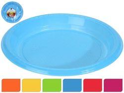 Набор тарелок одноразовых EH 30шт, D18cm, 6 цветов