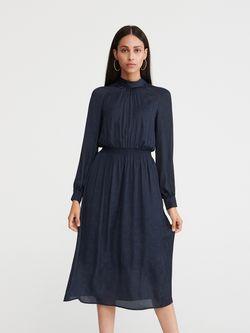 Платье RESERVED Темно синий xe439-59x