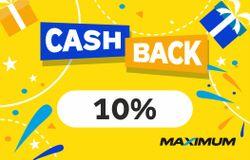 купить Сертификат подарочный Maximum CashBack 10% в Кишинёве