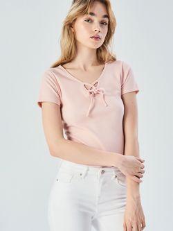 Майка Sinsay Светло розовый ve756-03x