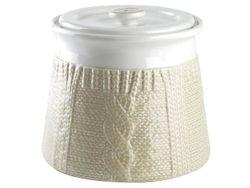 Емкость 1.4l Tognana Pullover, цвет молочный, керамика
