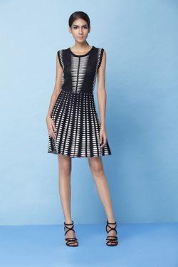 Платье Jus D'Orange Черно-белый NANAIMO
