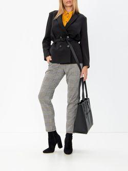 Pantaloni TOM TAILOR Gri in carouri 1013633 20344