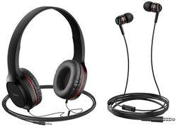 купить Наушники с микрофоном Hoco W24ENHWMRD / W24 Red в Кишинёве
