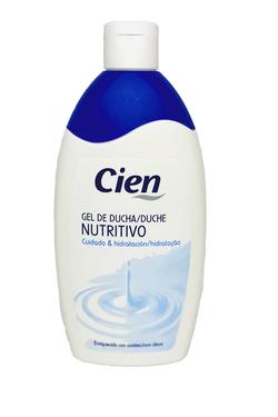 Гель для душа Cien Nutritivo 500 мл