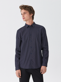 Рубашка HOUSE Темно синий