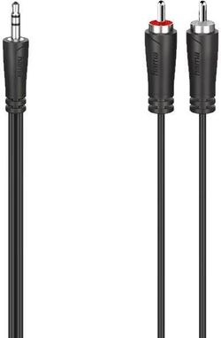 купить Кабель для AV Hama 200721 Audio Cable, 3.5 mm Jack Plug - 2 RCA Plugs, Stereo, 5.0 m в Кишинёве