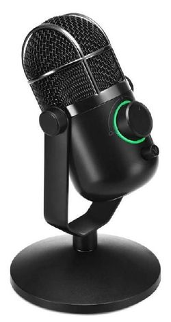 купить Микрофон для ПК Thronmax TM-M3 MDrill Dome M3, Jet Black в Кишинёве