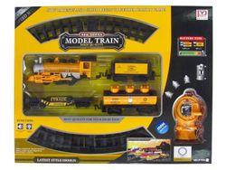 Set calea ferata 86cm, tren+vagoane de marfa R/C