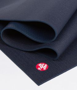 Mat pentru yoga Manduka PROlite Long yoga mat MIDNIGHT -4.7mm