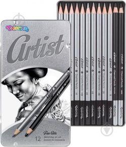 Цветные карандаши Artist 12 шт. Colorino