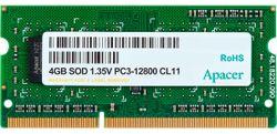 Memorie Apacer 4GB DDR3 1600MHz SODIMM