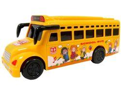 Автобус школьный свето-музыкальный