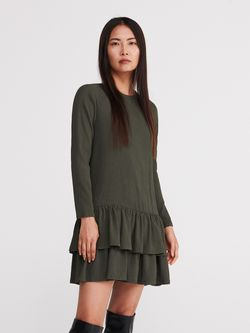 Платье RESERVED Хаки xq201-87x