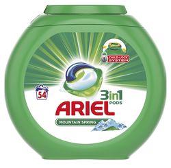 купить Порошок для стирки Ariel 6140 PODS MOUNT SPRING GEL CAPS 54X27G(5153/1694 ) в Кишинёве