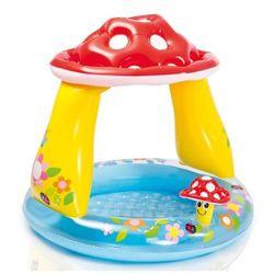 Детский надувной бассейн ГРИБ 102х89см, 45Л, 1-3 лет