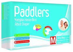 Подгузники для взрослых Paddlers Jumbo Pack Medium 30шт 85-125см 40-70кг
