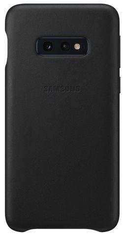 купить Чехол для моб.устройства Samsung EF-VG970 Leather Cover S10e Black в Кишинёве