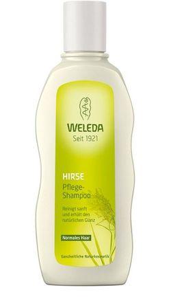 Шампунь для нормальных волос с просом Weleda 190 мл