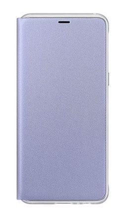 купить Чехол для смартфона Samsung EF-FA530, Galaxy A8 2018, Neon Flip Cover, Orchid в Кишинёве