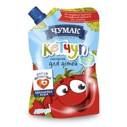 Ketchup gingas pentru copii Chumak 200gr